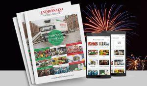 Andronaco Katalog zur Gastronomie-Belieferung