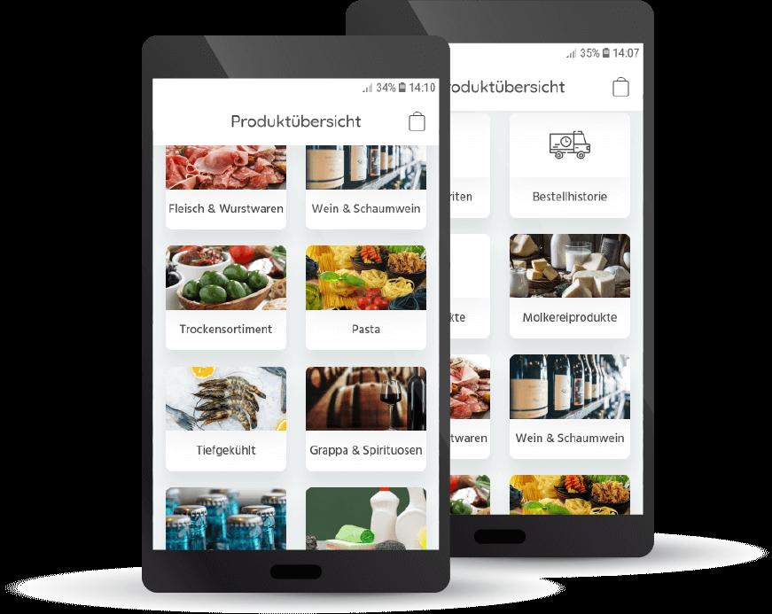 Gastronomie-Bestell-App